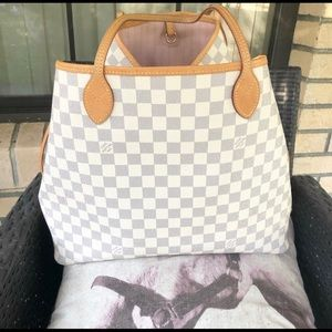 Louis Vuitton Neverfull Gm rose ballerine